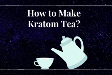 making kratom tea